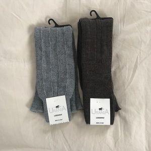 URANIA: bundle of 2 soft leg warmers